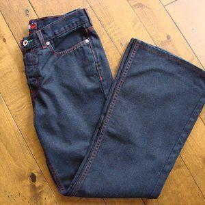 Tommy Hilfiger Dark Flared Boho Denim Jeans